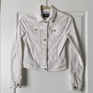Kensie White Denim Jacket